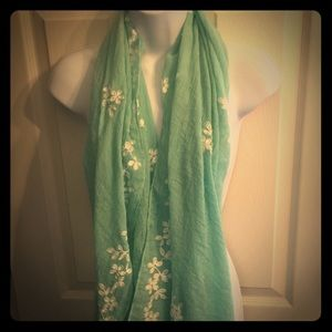 Accessories - Mint Green Scarf-NWOT